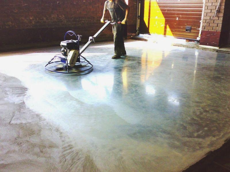 шлифовка бетонного пола стоимость