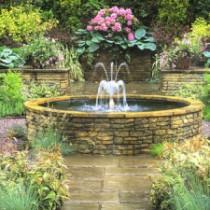 Декоративный фонтан своими руками на даче и участке