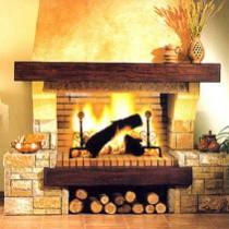 Варианты дровяных каминов для дома