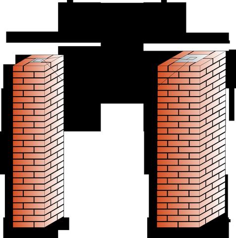 Кладка столбов