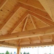 Чертежи для изготовления четырехскатной крыши для беседки своими руками