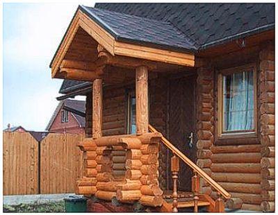 фото крыльцо к деревянному дому