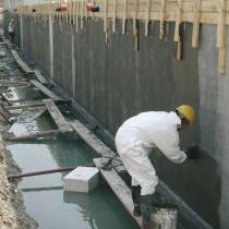 Использование проникающей гидроизоляции для бетона, кирпичной кладки, фундамента