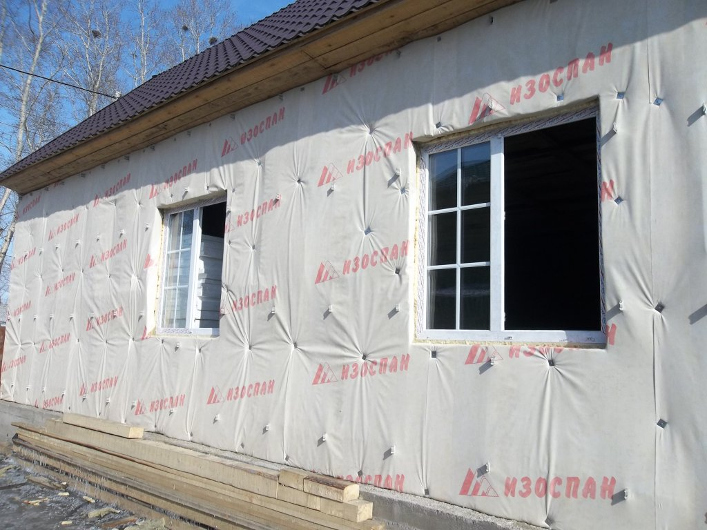 Утепление стен снаружи дома