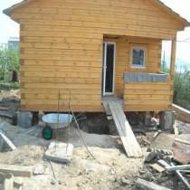 Поднимаем старый дом своими руками 360
