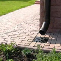 Точечная и линейная ливневая канализация в частном доме