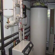 Схема водяного отопления в частном доме