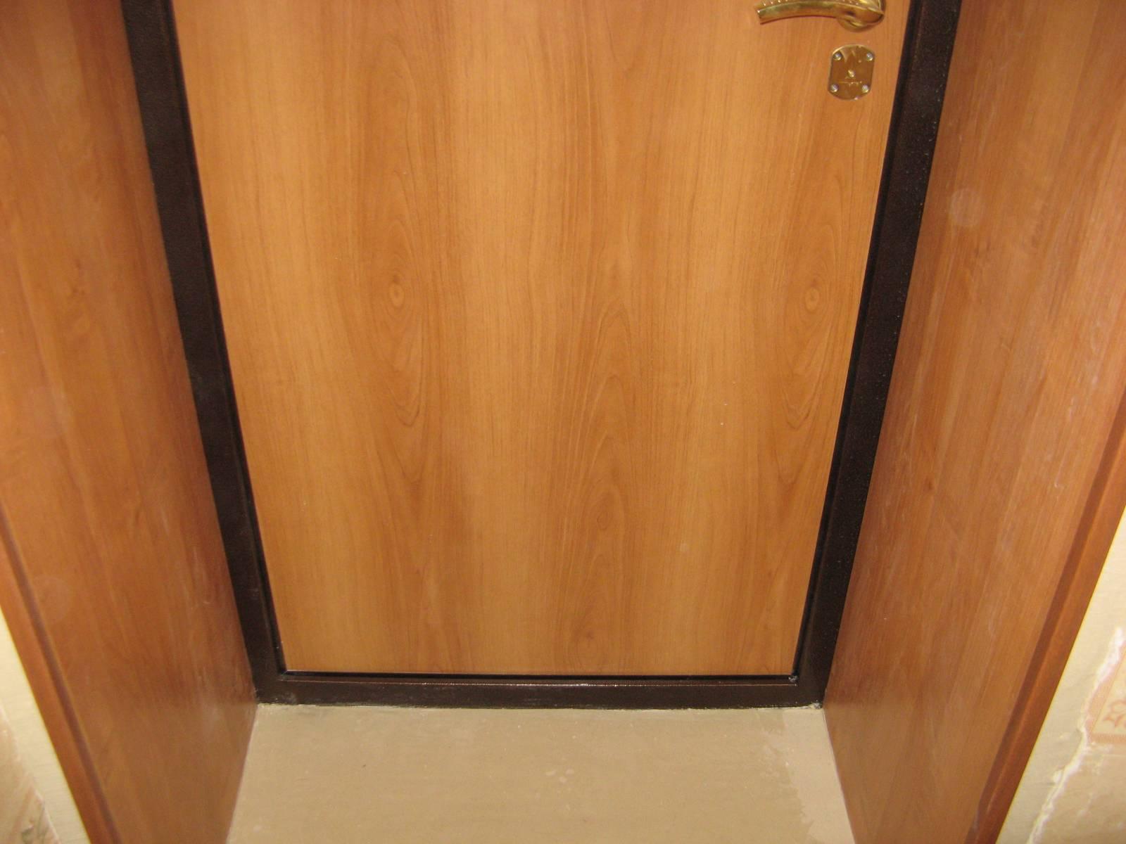 Как сделать откосы на дверях своими руками