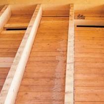 Как утеплить пол в деревянном доме. Двойная 34