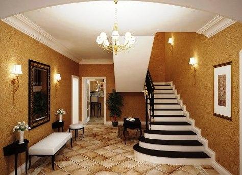Бра на лестнице