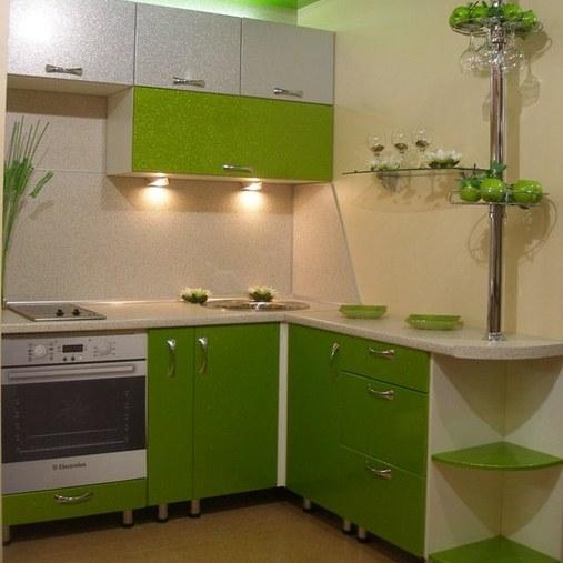 Красивый дизайн кухни в хрущевке: Угловая кухня в хрущевке: фото, дизайн