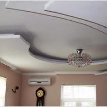Техника установки подвесного потолка из гипсокартона