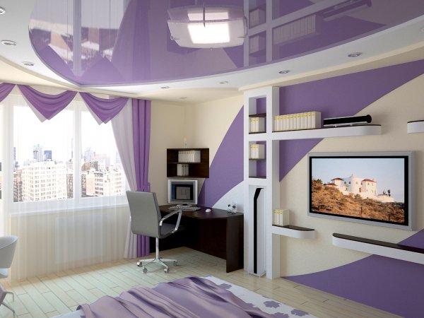Дизайн покраски стен фото