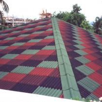 Размеры и укладка крыши из ондулина
