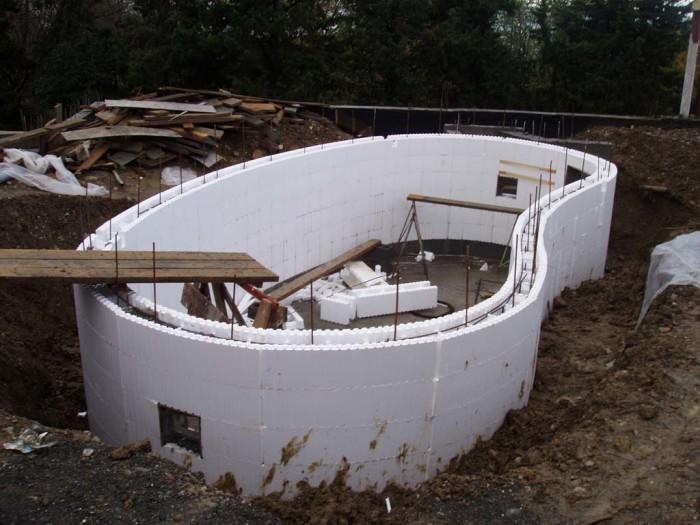 Дом из пенопласта и бетона своими руками 738