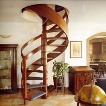 Расчет для сооружения винтовой лестницы на второй этаж своими руками