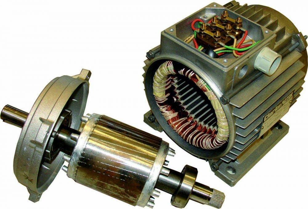 Подключение асинхронного электродвигателя